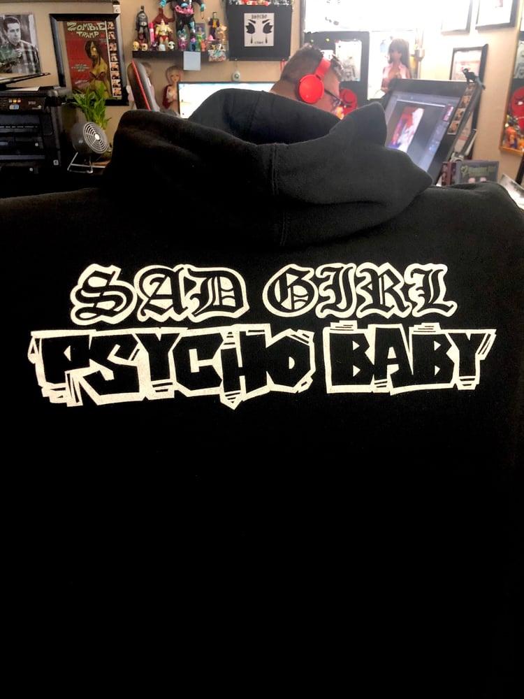 Image of Sad Girl Psycho Baby Hoodie