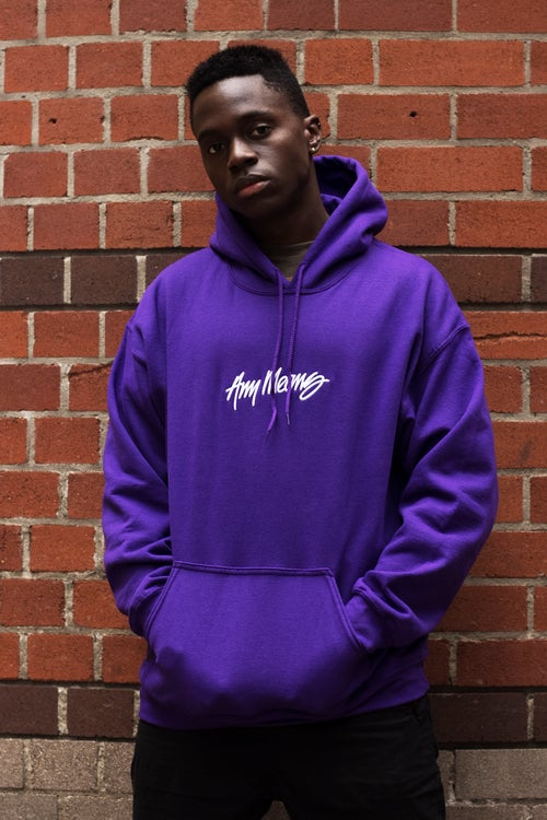 Image of OG Signature Hoodie in Purple