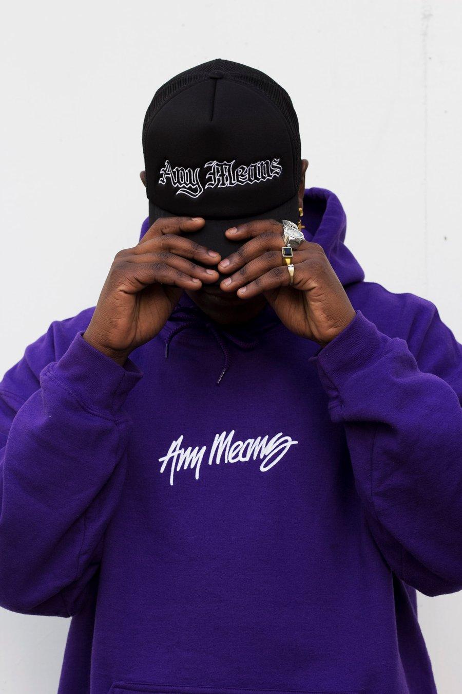 Image of OG Signature Hoodie in Purple