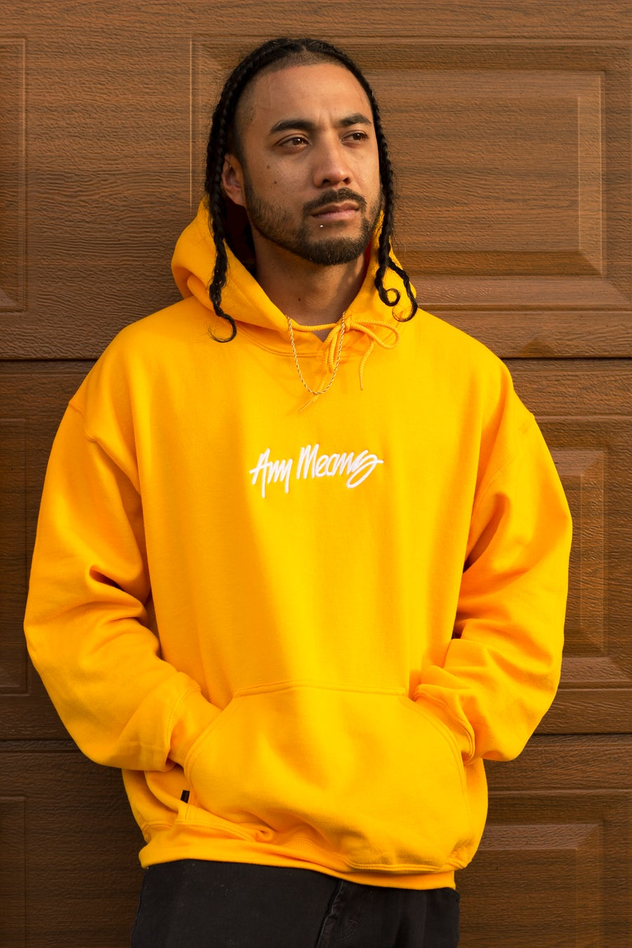 Image of OG Signature Hoodie in Yellow