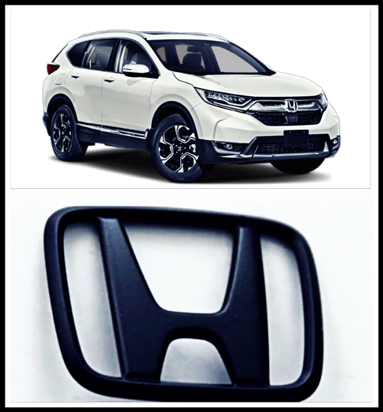 Image of 2017-2019 Honda CR-V - front/rear BLACKOUT emblem set (2)