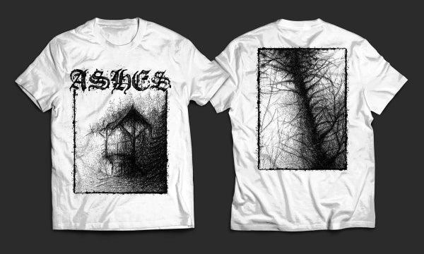Image of ASHES - 'Ashes' men's white t-shirt