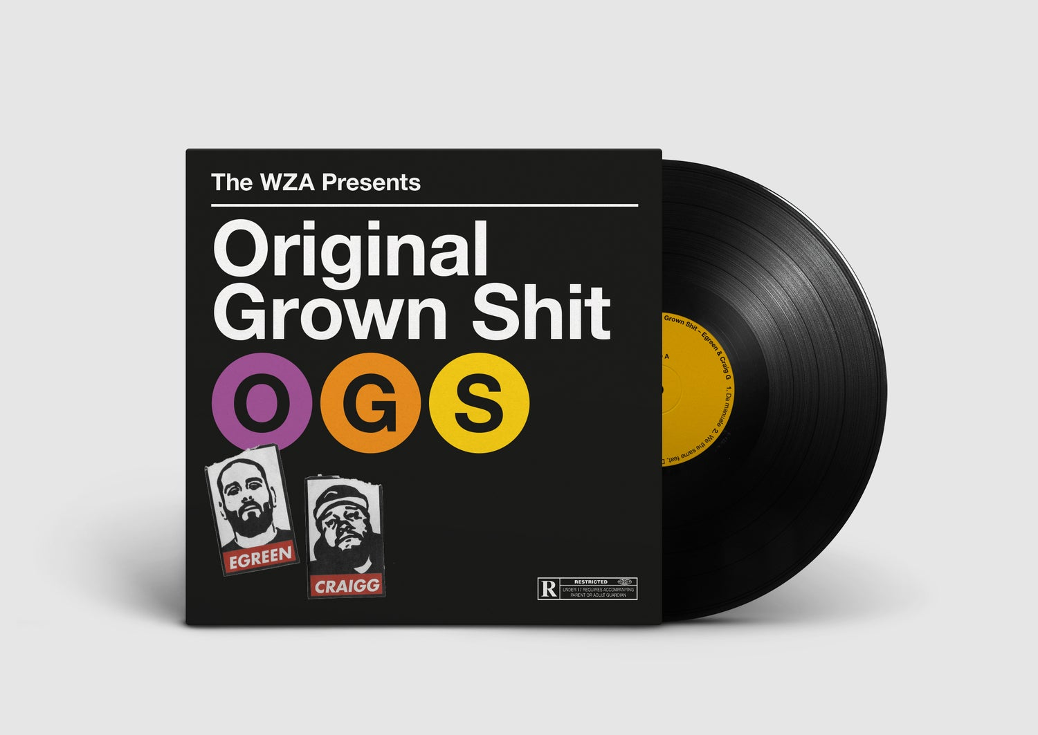 "Image of OG'S Original Grown Shit - 12"" LP LIMITED"