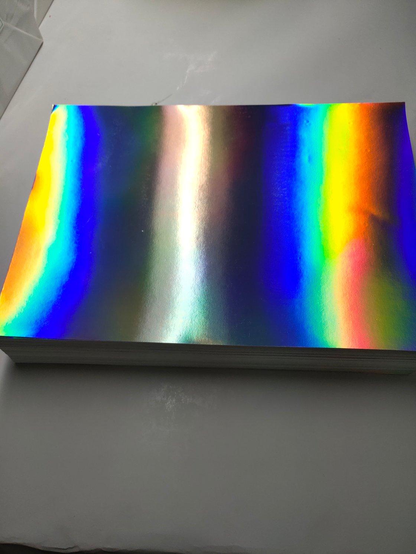 Image of Free Shipping Hologram Eggshell Sticker Paper Sheet 100/200pcs