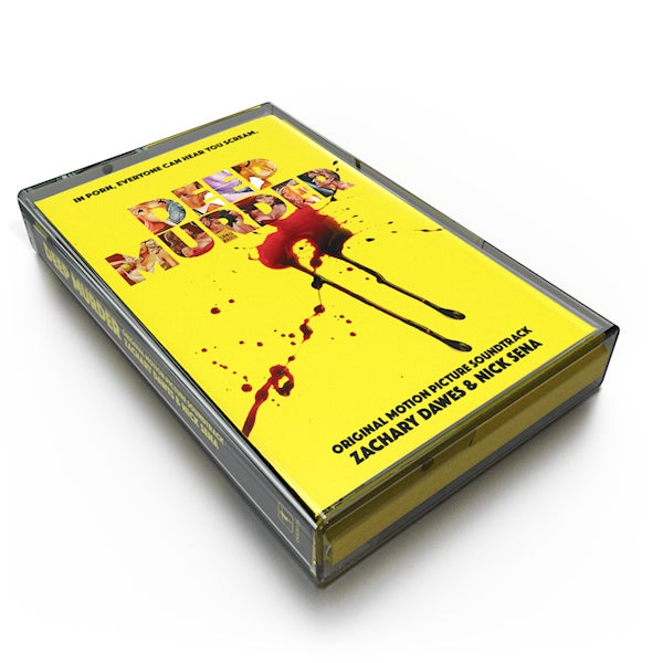 Image of Deep Murder (Original Motion Picture Soundtrack) Cassette - Zachary Dawes and Nick Sena