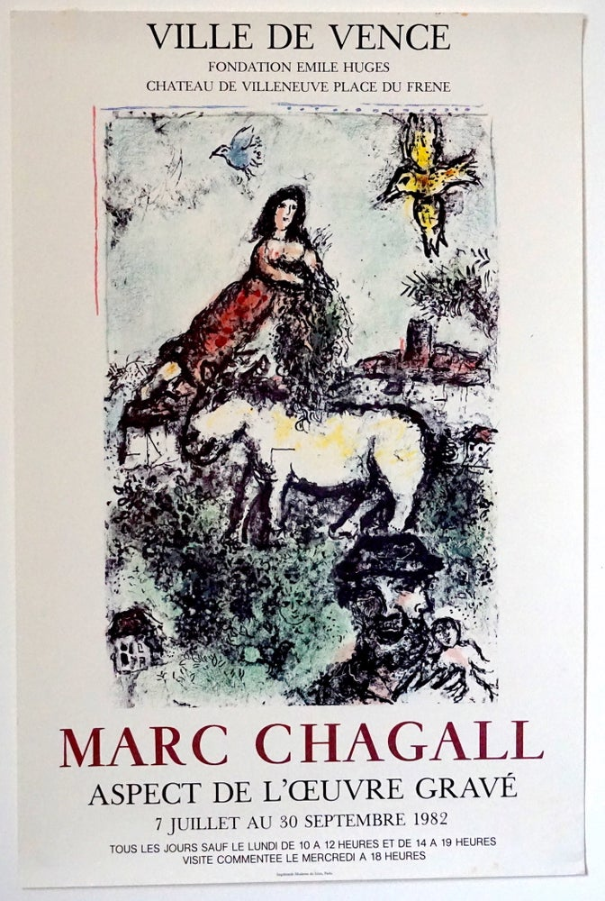 Image of poster / chagall