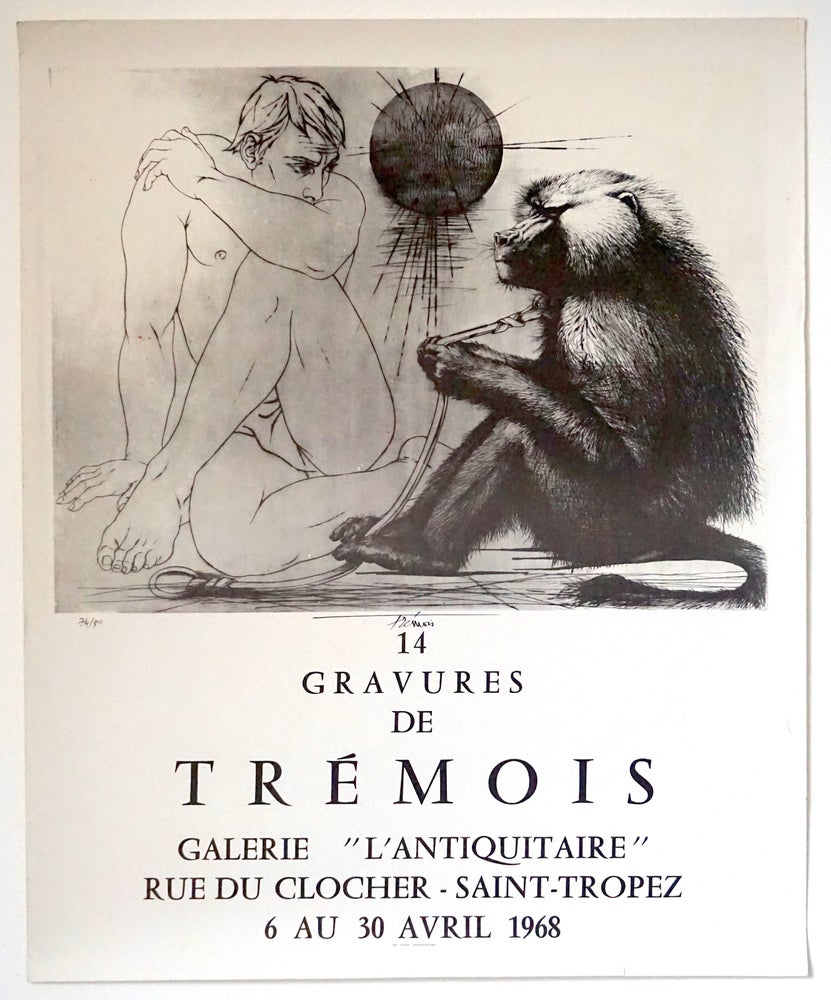 Image of poster / tremois / galerie l'antiquitaire