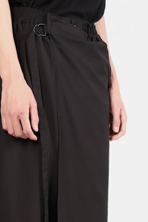 Image of IMMENSE - 裙片八分褲 (黑)