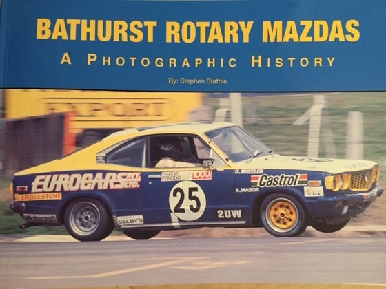 Image of Allan Moffat Signed Bathurst Rotary Mazda Book