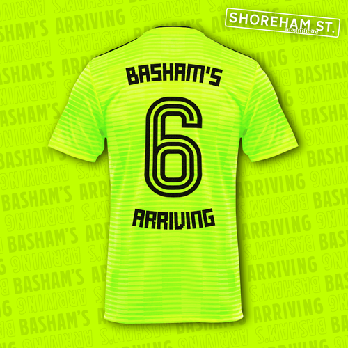 Image of Basham's Arriving Jersey