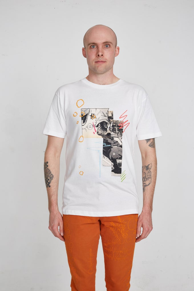 Image of [CREP CHECK!] Tee in White