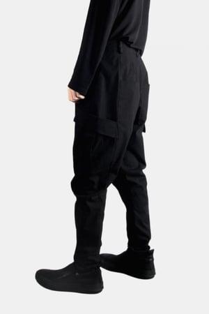 Image of IMMENSE - 雙口袋彈性機能褲 (黑)