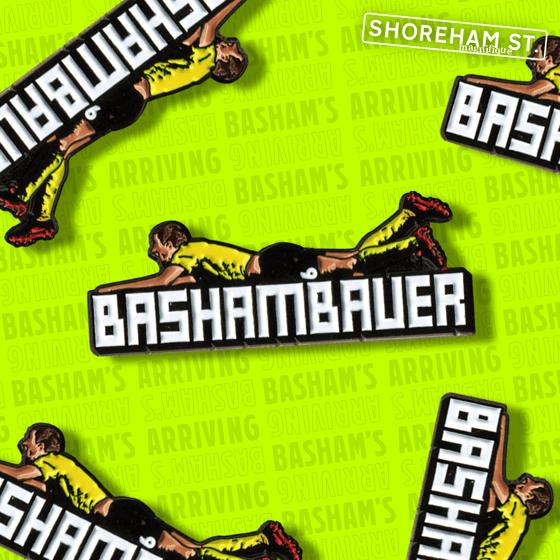 Image of Basham's Arriving - Pin