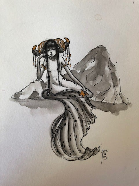Image of Original 4 Aries mermaid