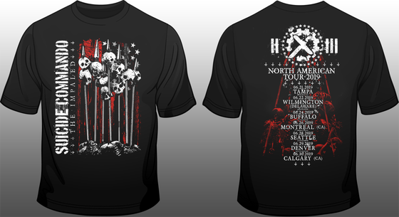 Image of USA & Canada Tour Shirt 2019