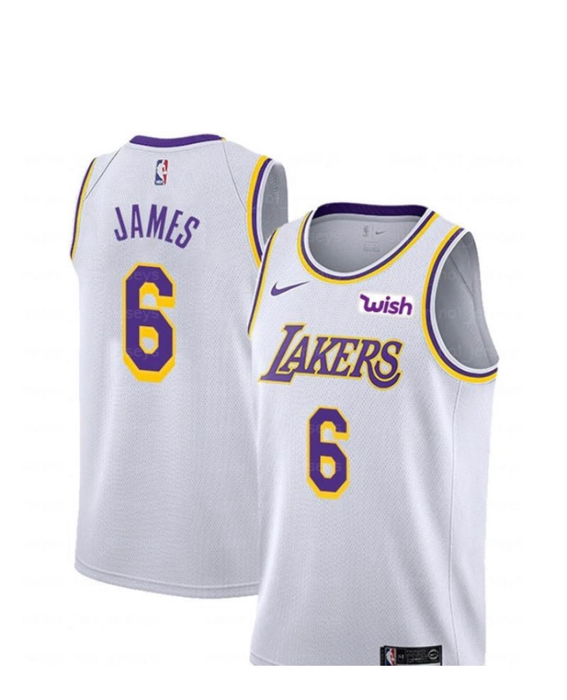 finest selection 278f3 78a2d Lebron James Lakers Jersey #6