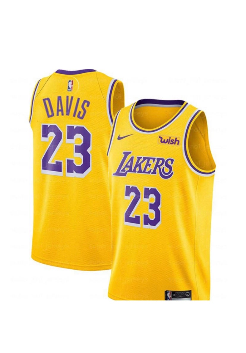 Image of Anthony Davis Lakers Jersey