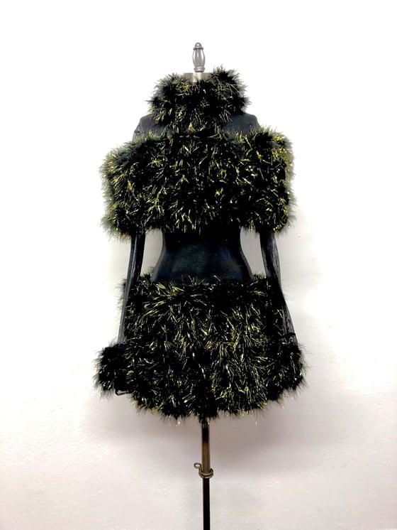 Image of Runway sample: Furry mini dress