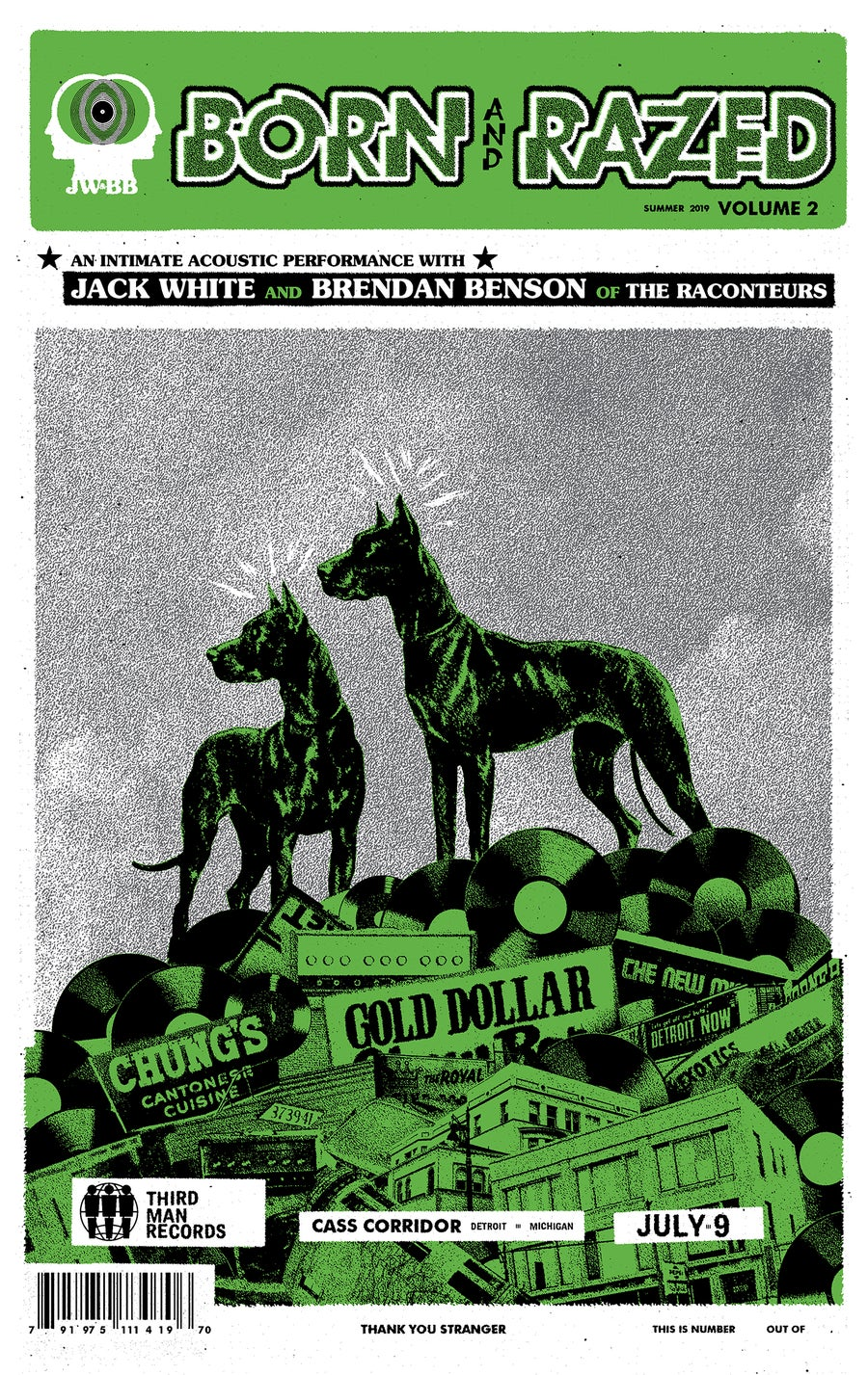 Image of Jack White & Brendan Benson / Born and Razed / TMR Detroit