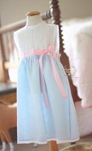 Image of Vintage Eyelet & Linen Primrose Dress