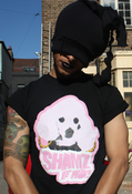 Image of Black Tee - Shamz Le Roc logo