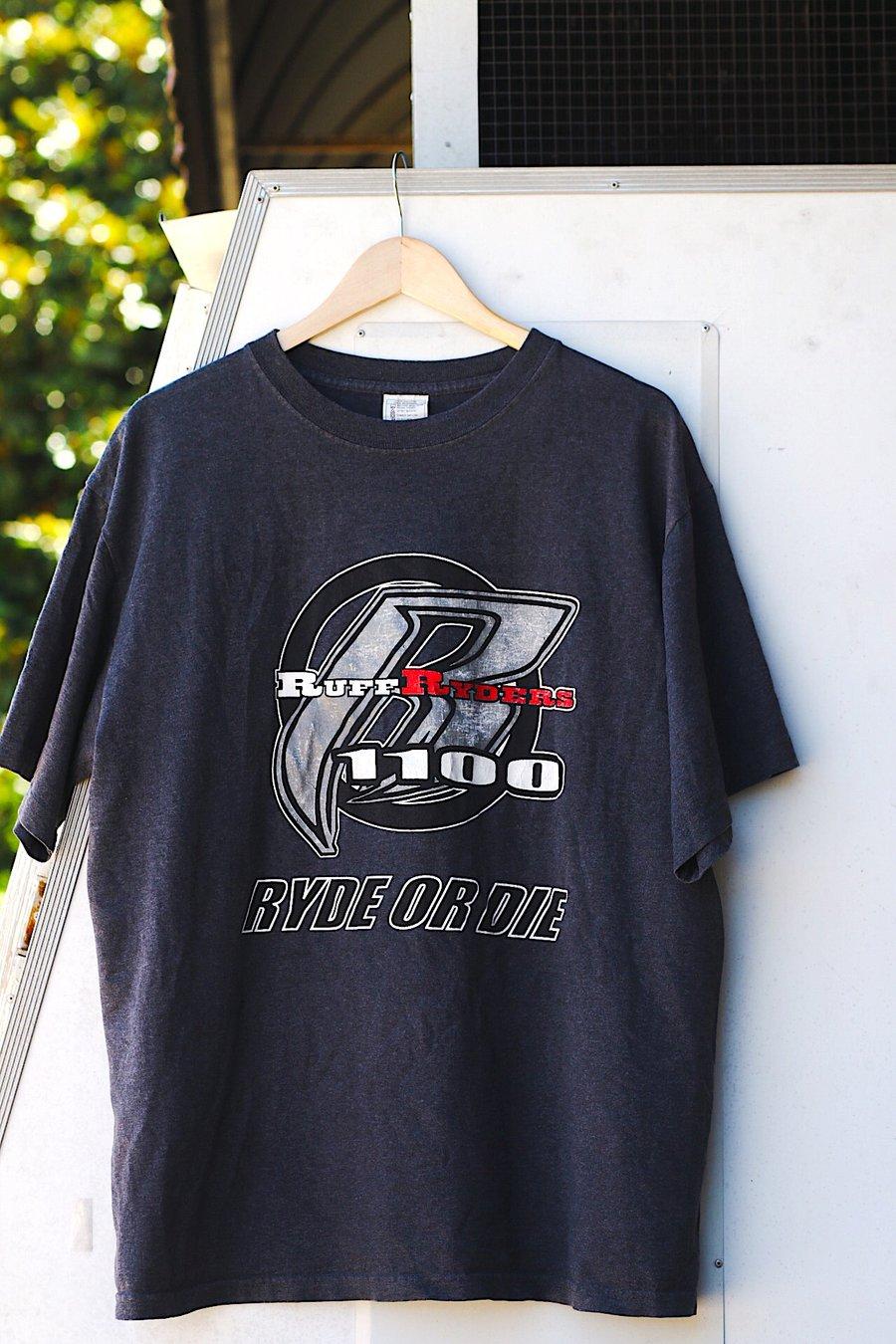 """Image of Rare 1999 Vintage """"RUFF RYDERS- Ryde Or Die"""" Rap Tee"""