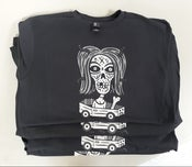 Image of Coffin Zombie T-Shirt by MATS (discharge print!)