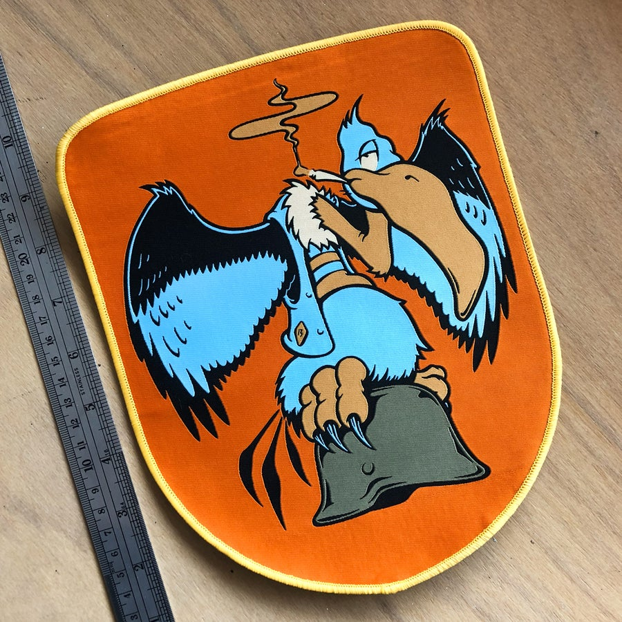 Image of WarBuzz back patch