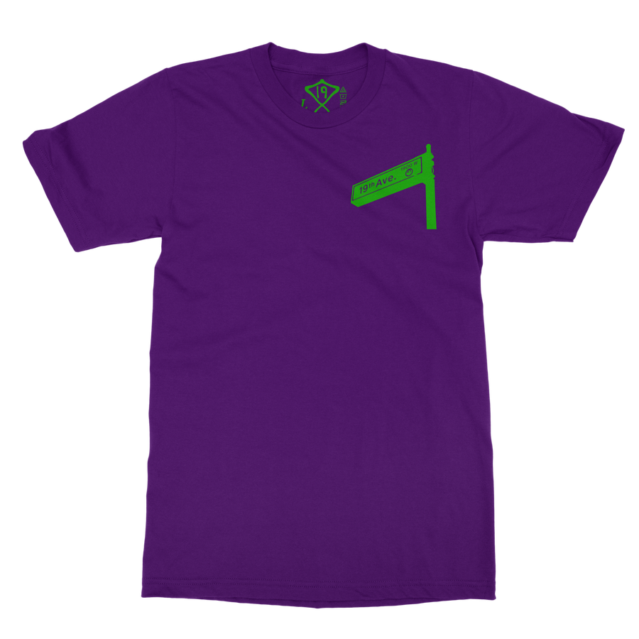 Image of 19th Ave Tee (Purple)