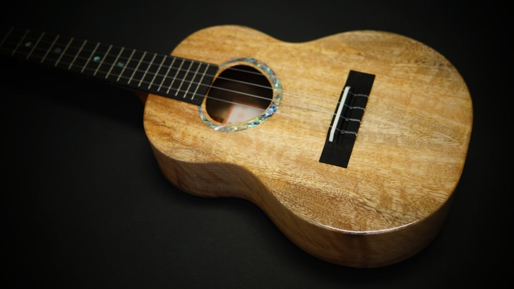 Image of KoAloha KTMR-00 Custom Build Rosette Tenor Mango & Walnut