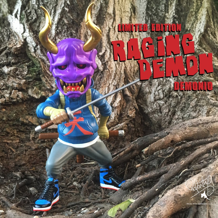 Image of FU-Stamps Limited Edition Raging Demon Demonio