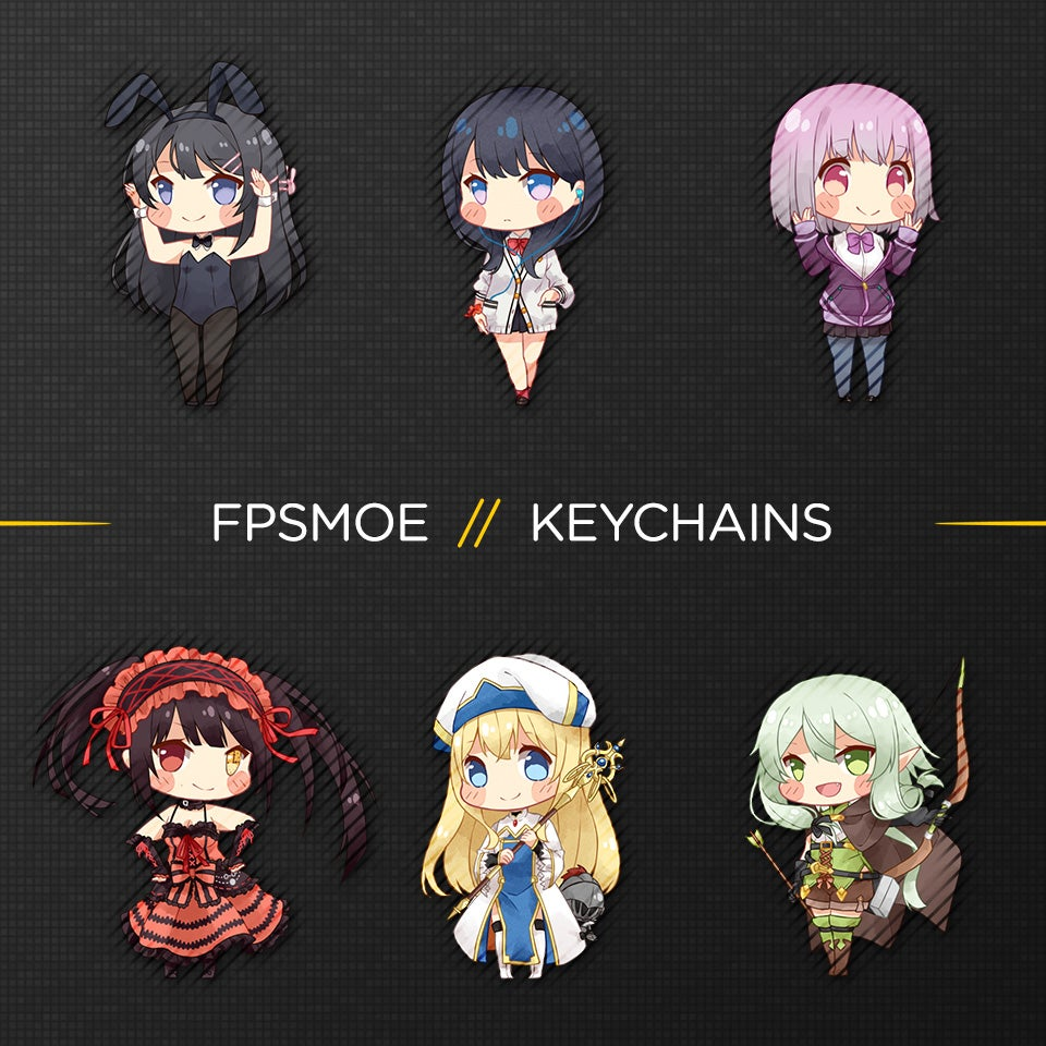 Image of More Keychains by Rizumary