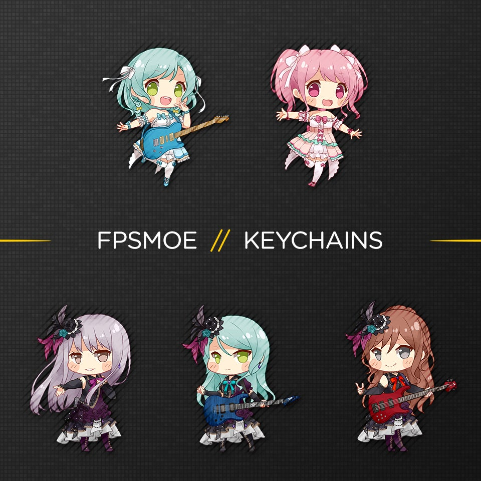 Image of Bang Dream Keychain