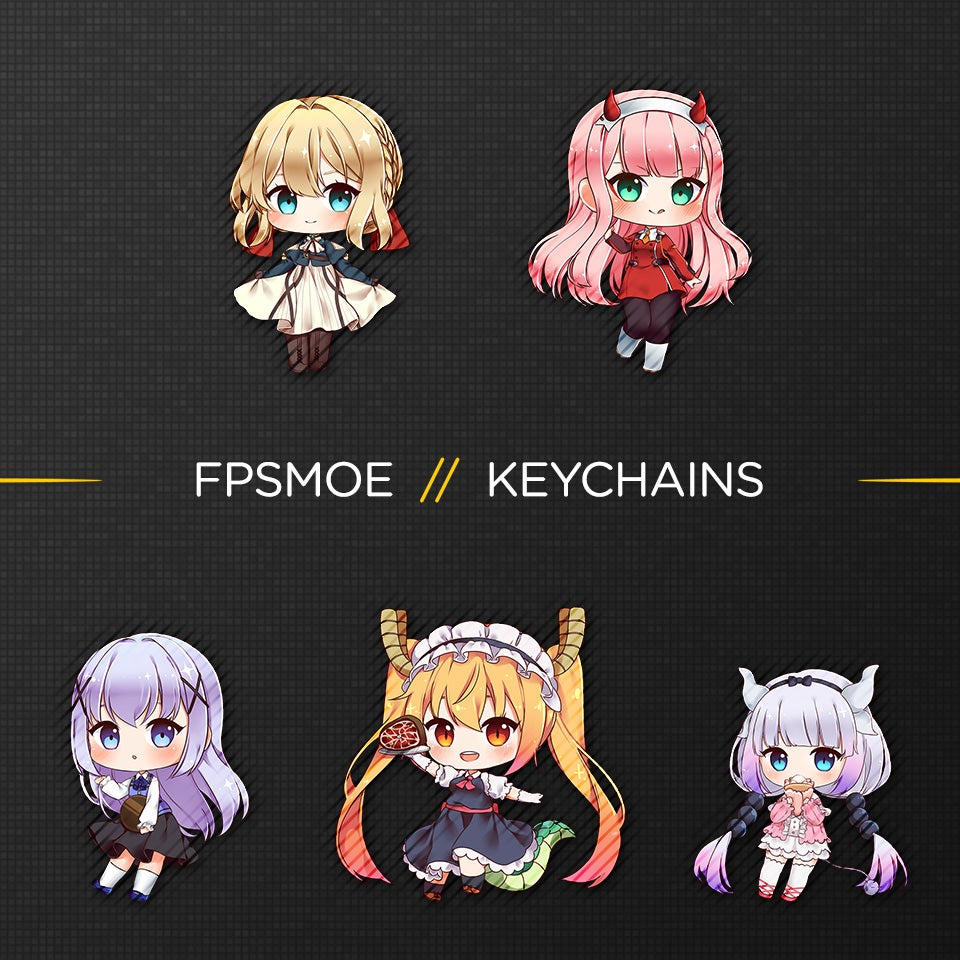 Image of More Keychains by Hurashi