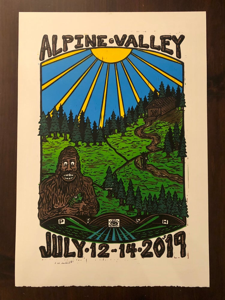 Image of Alpine Valley prints