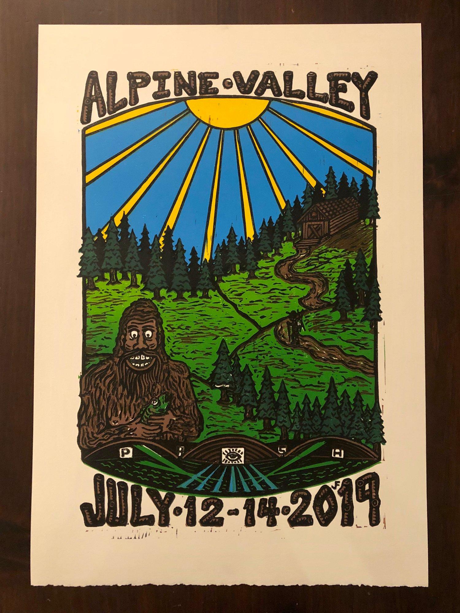 Image of Alpine Valley prints