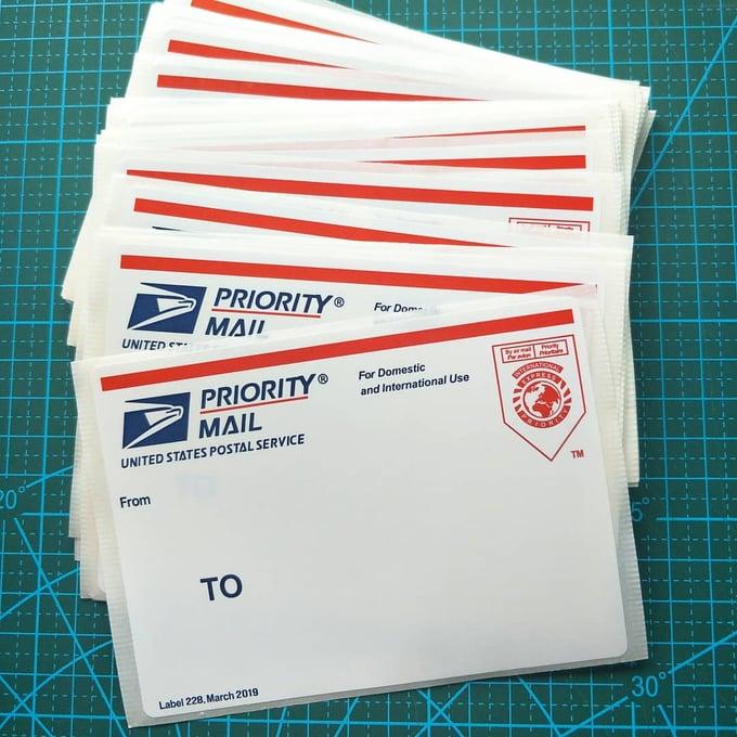 Free Blank Stickers