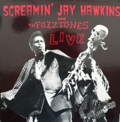 Image of LP. Screamin Jay Hawkins & The Fuzztones. : Live.  Expanded edition.