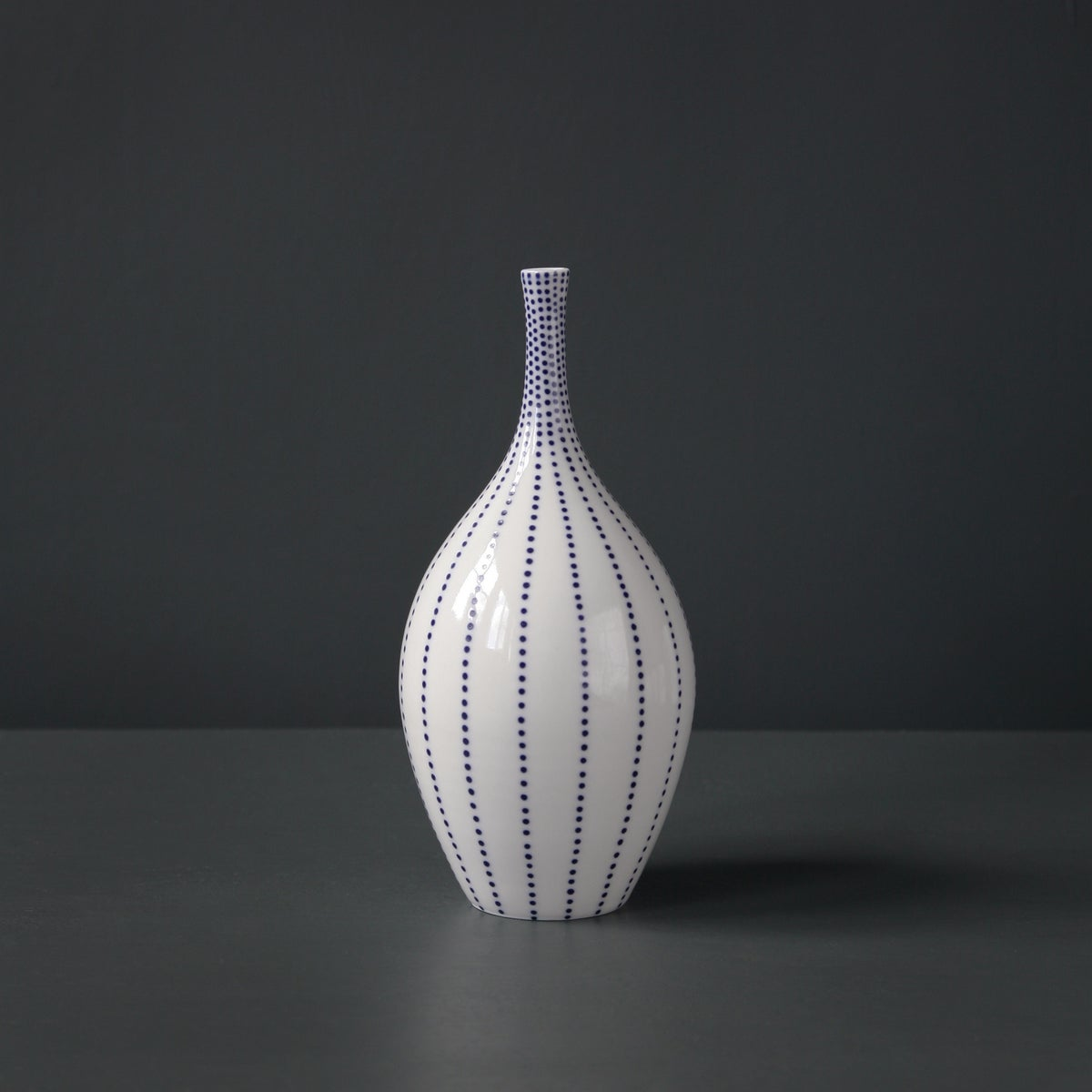 Image of Medium 'Dotty' Bottle Form by Rhian Malin