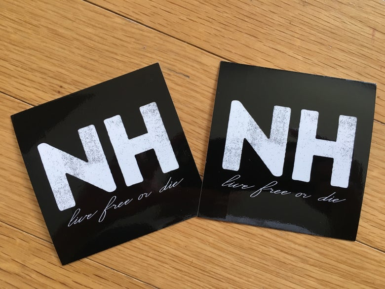 Image of Big NH sticker (2)