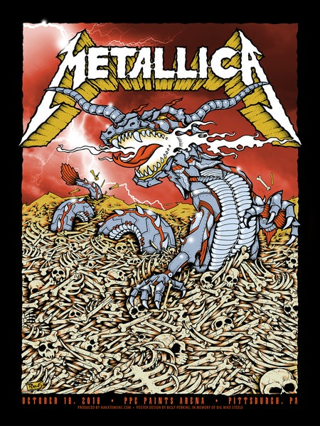 Image of Metallica 2018 Pittsburgh