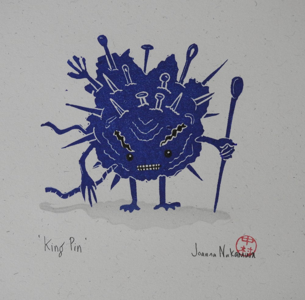 Image of The Life of Discarded Things - 'King Pin' A4 Print