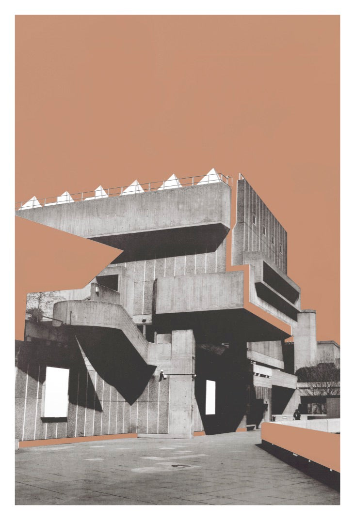 Image of Series One | Anthropological brutalist Illusions. Dark beige