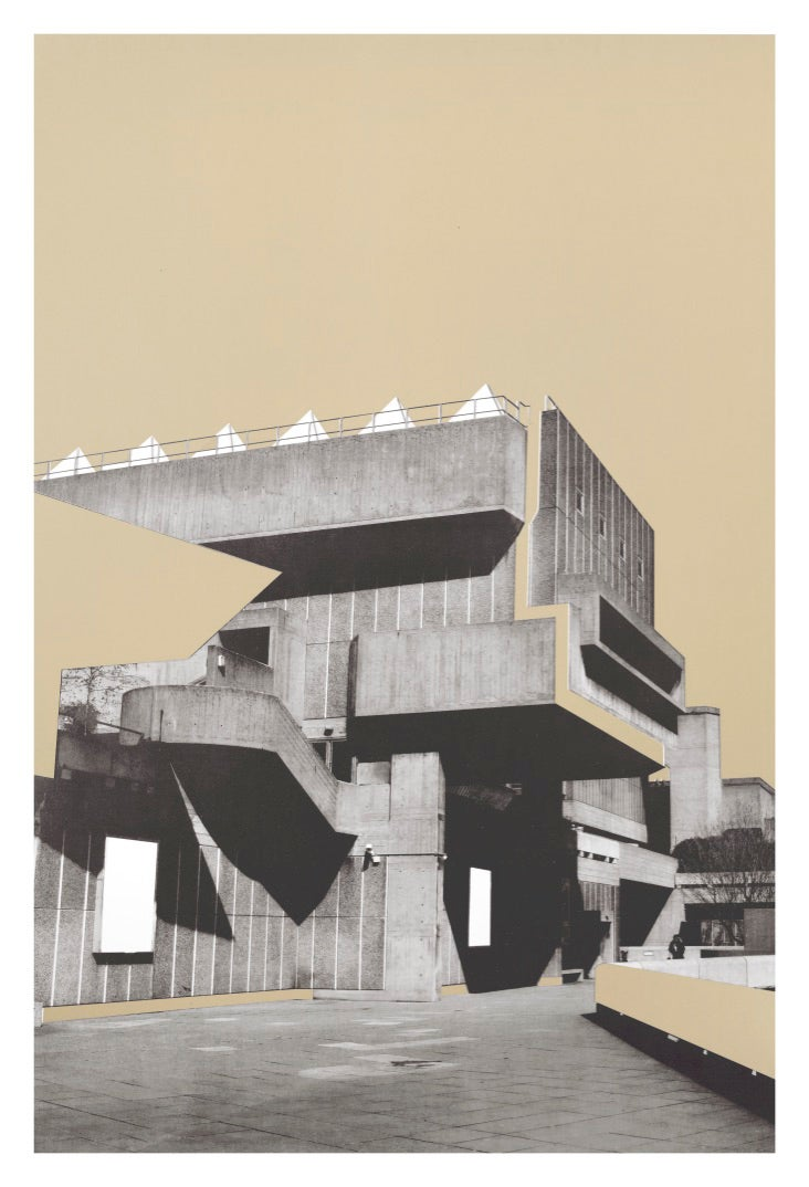 Image of Series One | Anthropological Brutalist Illusions. Light beige