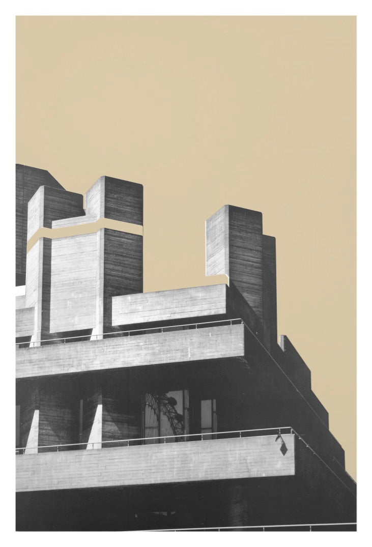 Image of Series One | Brutalist Illusions | Dark Beige