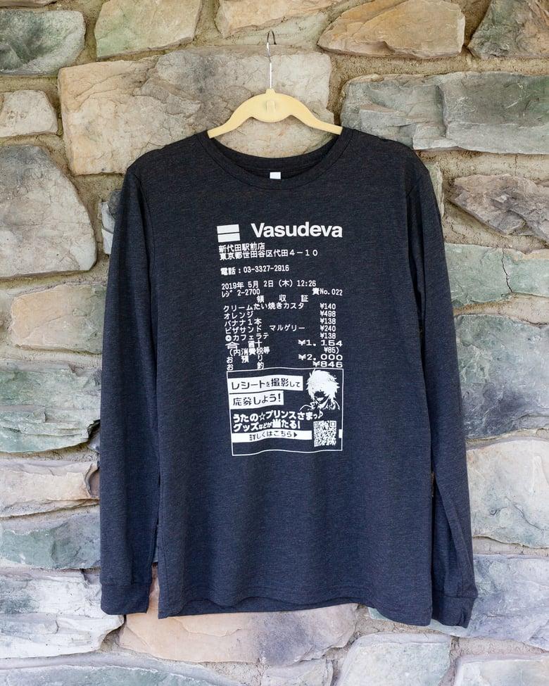 Image of Receipt shirt