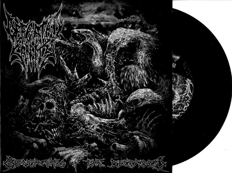 "Image of Split 7"" Vinyl ""Generosity of the Deceased"" with MORTAL DECAY"