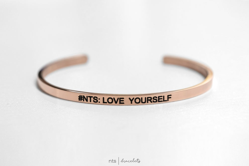 Image of #NTS: LOVE YOURSELF (Rose Gold)