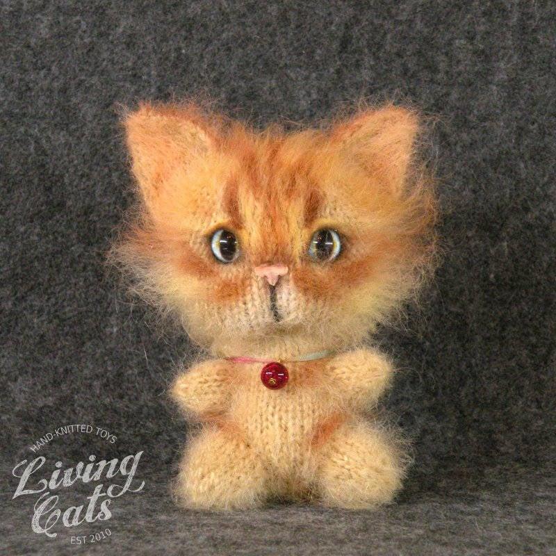 Image of Ginger plush cat