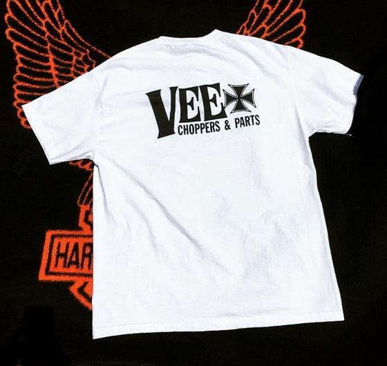 Image of VEE banner tee